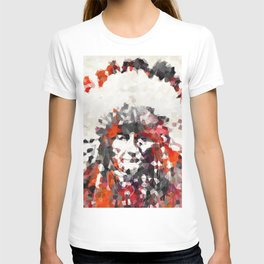 Modern Red Indian Chief - Sharon Cummings T-shirt