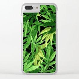 Cannabis Clear iPhone Case