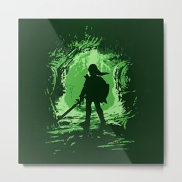 LINK - Legend of Zelda Metal Print