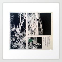 Turtle #8 (Moon Astronaut) [Cecilia Lee] Art Print