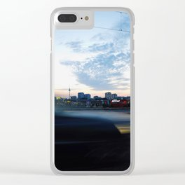berlin is passing by Clear iPhone Case
