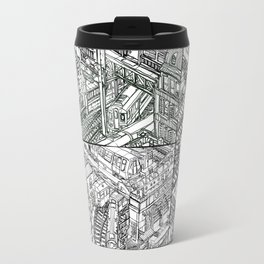 The Town of Train 3 Travel Mug