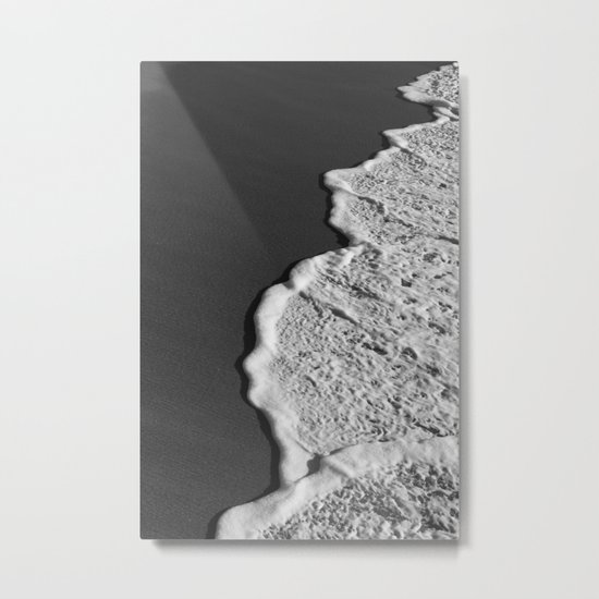 Rippling Metal Print