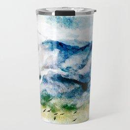 Mountain Landscape Travel Mug