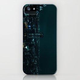 Sleepless city iPhone Case