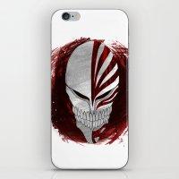 bleach iPhone & iPod Skins featuring Bleach - Hollow by Bradley Bailey