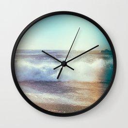 California Ocean Dreaming Wall Clock
