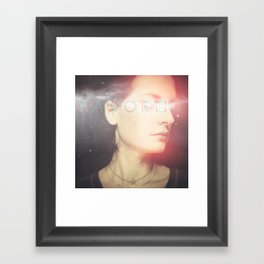 Apple of My Eye (Unworthy/Favored) Framed Art Print