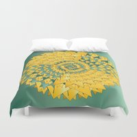 bow Duvet Covers featuring Bow Tie by DesignsByMarly