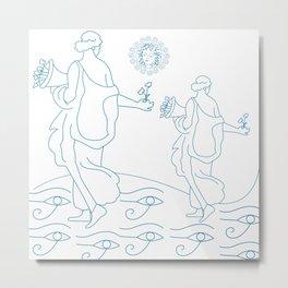 Mythological folklore art Metal Print