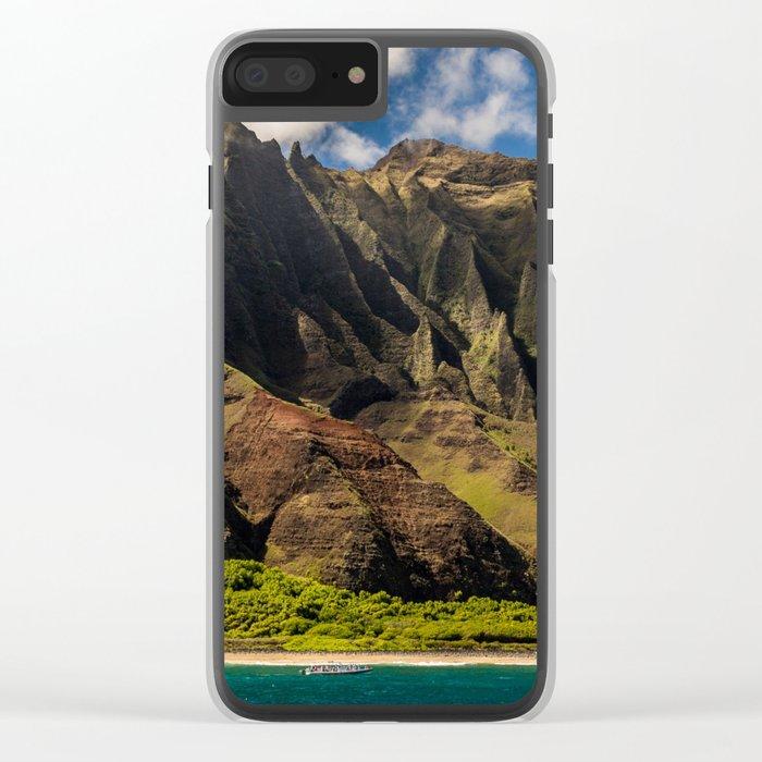 Kapaa, Hawaii Clear iPhone Case