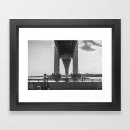 Under the Verrazano Framed Art Print