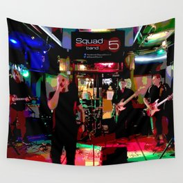 A night with Squad5 Wall Tapestry