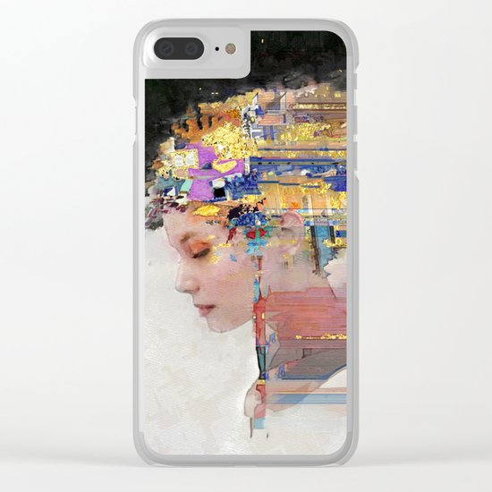 Wandering Star Clear iPhone Case