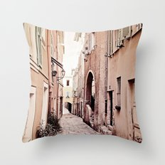 new day in Rio Throw Pillow
