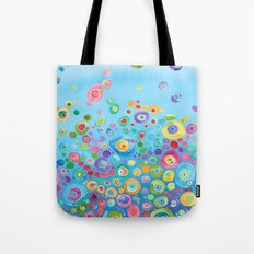 Inner Circle - Blue Tote Bag