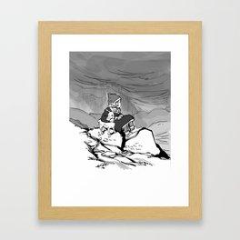 Sami Deer Framed Art Print