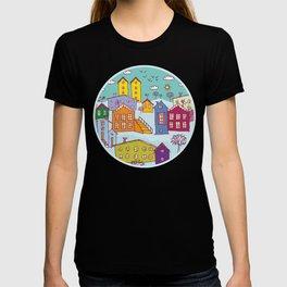 Cityscape Sketch T-shirt