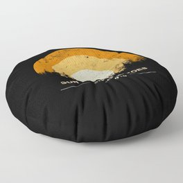 every summer has a story Floor Pillow