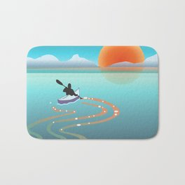 Exploring Crystal Cove Bath Mat