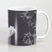 johnny cash Mugs featuring Johnny Cash by Iany Trisuzzi