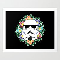 Tropical Troopers Art Print