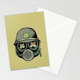 War Skull Stationery Cards