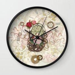 Romantic Steampunk Wall Clock