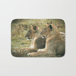 Lion Cub Twins Bath Mat