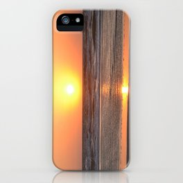 To Await The Morning Light iPhone Case