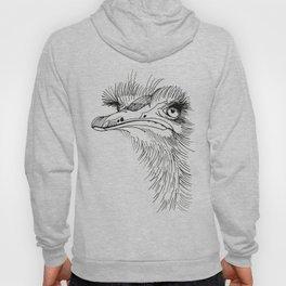 Exotic bird Ostrich Hoody