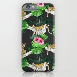 Leopard Sleeps Tonight iPhone Case