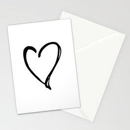 Valentine Heart 31a by Kathy Morton Stanion Stationery Cards