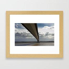 The Humber Bridge Framed Art Print