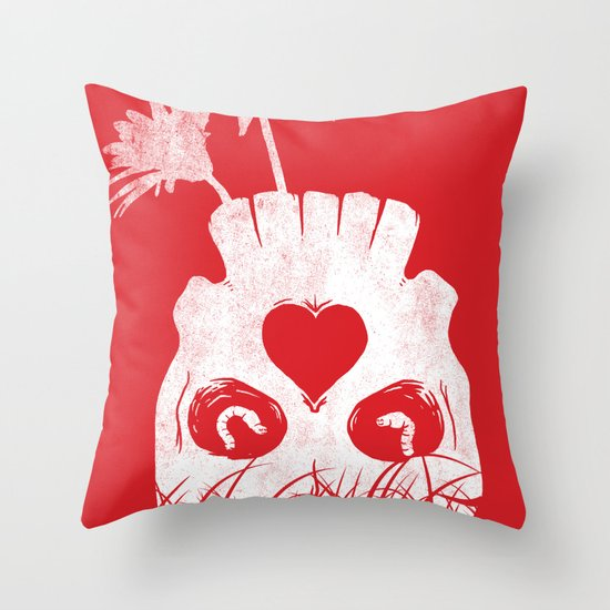 Love is where you find it Throw Pillow