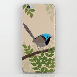 Variegated Fairy-wren iPhone Skin