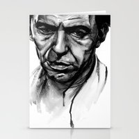 frank sinatra Stationery Cards featuring Only the Lonely - Frank Sinatra by Tiffany Tate
