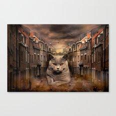 The City Cat Diesel Canvas Print