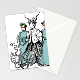 Follow Me Into The Dark Stationery Cards