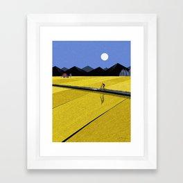 Way home Framed Art Print