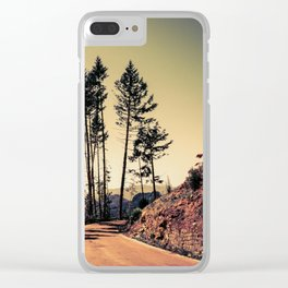 Woodland #2 Clear iPhone Case