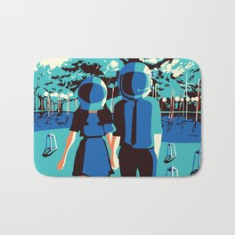 Outer Space Bath Mat