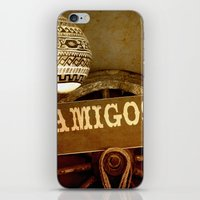 mexican iPhone & iPod Skins featuring Mexican by laika in cosmos