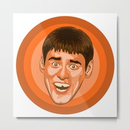 Jim Carrey (Lloyd Christmas) Metal Print
