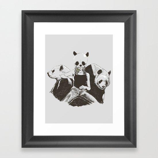 Love Love Lover Framed Art Print