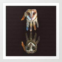 Hands of Darkness Art Print