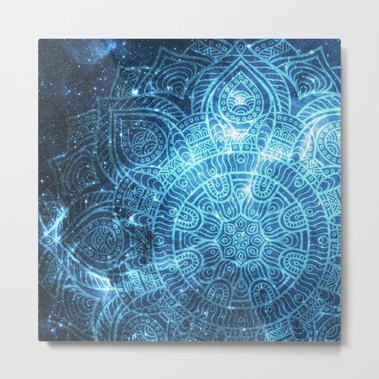Space mandala 8 Metal Print