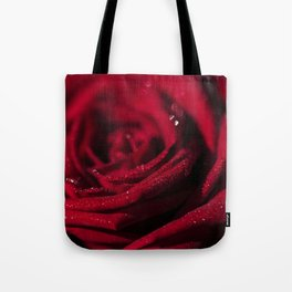 Fire - Red - Rose - Roses Flowers Tote Bag