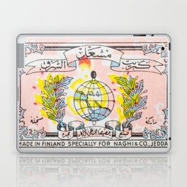Old Matchbox label #4 Laptop & iPad Skin