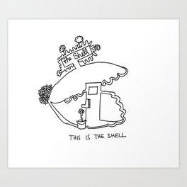 The Shell Art Print
